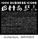 1000 business glyph icons....   Shutterstock . vector #389259829