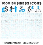 1000 business glyph icons.... | Shutterstock . vector #389259919
