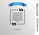 quotation  icon vector eps 10...
