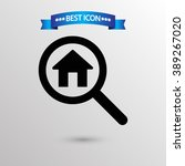 search house  icon vector eps...