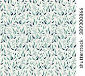 seamless spring floral pattern. ... | Shutterstock .eps vector #389300866