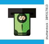 money icon design  | Shutterstock .eps vector #389317813