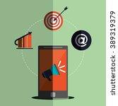 shopping online design  | Shutterstock .eps vector #389319379