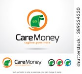 care money logo template design ... | Shutterstock .eps vector #389334220