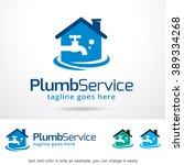 plumb water logo template... | Shutterstock .eps vector #389334268