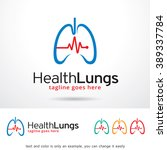 health lungs logo template... | Shutterstock .eps vector #389337784