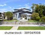 beautiful homes and estates... | Shutterstock . vector #389369008