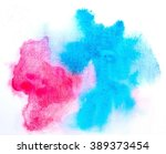 watercolor stains abstract... | Shutterstock . vector #389373454