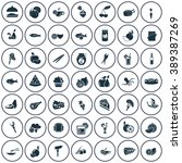 set of forty nine food icons | Shutterstock .eps vector #389387269