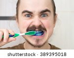 Man over whom played prank by coloring his tooth brush. April Fools!