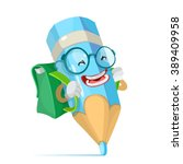 vector cartoon illustration of... | Shutterstock .eps vector #389409958