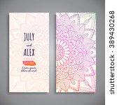 wedding card or invitation....   Shutterstock .eps vector #389430268