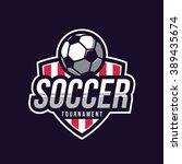 soccer logos  american logo...   Shutterstock .eps vector #389435674