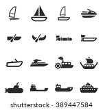 Water Transport Icons
