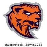 wolverine mascot   Shutterstock .eps vector #389463283