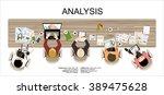 flat design illustration... | Shutterstock .eps vector #389475628