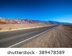 Endless Open Straight Road In...