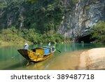 phong nha  ke bang cave  an... | Shutterstock . vector #389487718