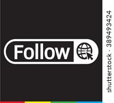 follower icon illustration... | Shutterstock .eps vector #389493424