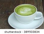 hot green tea   Shutterstock . vector #389503834