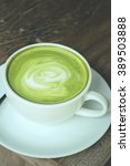 hot green tea | Shutterstock . vector #389503888