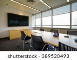 business meeting room or board... | Shutterstock . vector #389520493