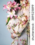 pregnancy | Shutterstock . vector #389525899