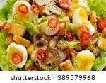 Salad Caesar With Mushrooms ...