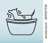 cute mascot design  | Shutterstock .eps vector #389587558