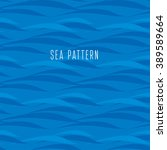 Seamless Water Pattern. Vector...