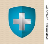 medical care design | Shutterstock .eps vector #389609494