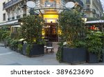 Small photo of Paris, France-March 11, 2016 : The cafe La Closerie des Lilas was where the intelligentsia hung out, Hemingway used to write here, the poet Baudelaire , the impressionist Claude Monet were regulars...