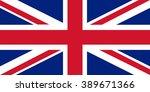 flag of united kingdom | Shutterstock .eps vector #389671366