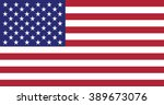 flag of the united states | Shutterstock .eps vector #389673076