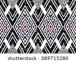 geometric ethnic oriental... | Shutterstock .eps vector #389715280