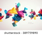 abstract colorful background... | Shutterstock .eps vector #389759890