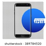 a new generation of smart phone ... | Shutterstock .eps vector #389784520