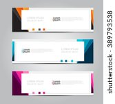 vector design banner... | Shutterstock .eps vector #389793538