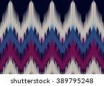 geometric ethnic oriental ikat... | Shutterstock .eps vector #389795248