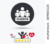 clients icon. group of people... | Shutterstock .eps vector #389803120