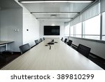 business meeting room or board... | Shutterstock . vector #389810299