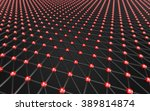abstract polygonal space low... | Shutterstock . vector #389814874