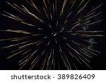 fireworks light up the sky | Shutterstock . vector #389826409
