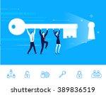 flat design vector illustration ...   Shutterstock .eps vector #389836519