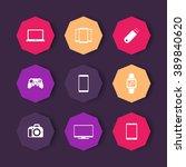 gadgets icons   tv  gamepad ...