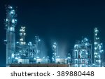 Oil Refinery Factory At...