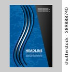 magazine  flyer  brochure and... | Shutterstock .eps vector #389888740