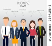 people in business team concept.... | Shutterstock .eps vector #389915848
