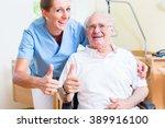 Senior And Old Age Nurse...
