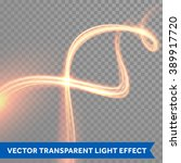 vector magic glowing light... | Shutterstock .eps vector #389917720